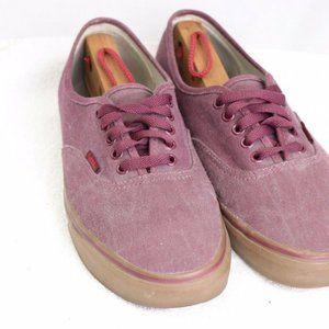 Old School Vans Low Tops Red Size 9.5 Shoes
